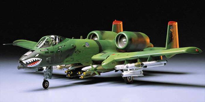 Tamiya U.S. A-10 Thunderbolt II 1/48 Aircraft Model Kit image