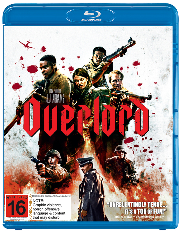 Overlord on Blu-ray
