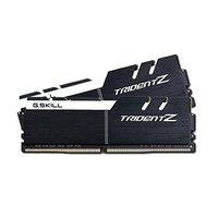 2 x 8GB G.SKILL Trident Z 3200Mhz DDR4 Desktop Memory - Black/White image