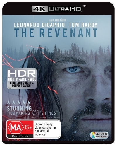 The Revenant on UHD Blu-ray
