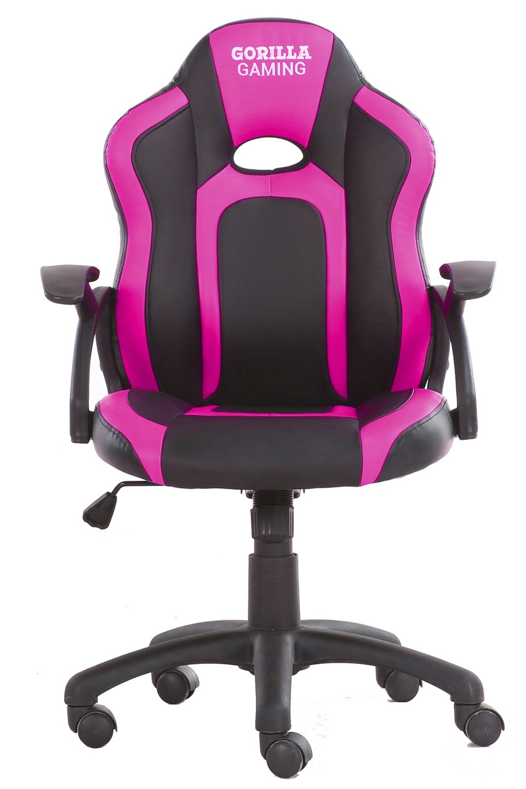 Gorilla Gaming Little Monkey Chair - Pink & Black for  image