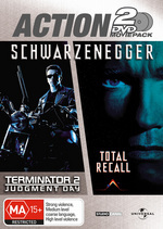Terminator 2 / Total Recall - Action 2 Movie Pack (2 Disc Set) on DVD