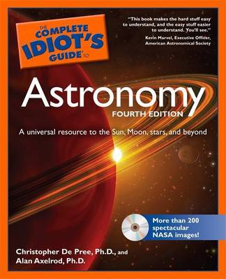 Complete Idiot's Guide to Astronomy by Alan Axelrod image