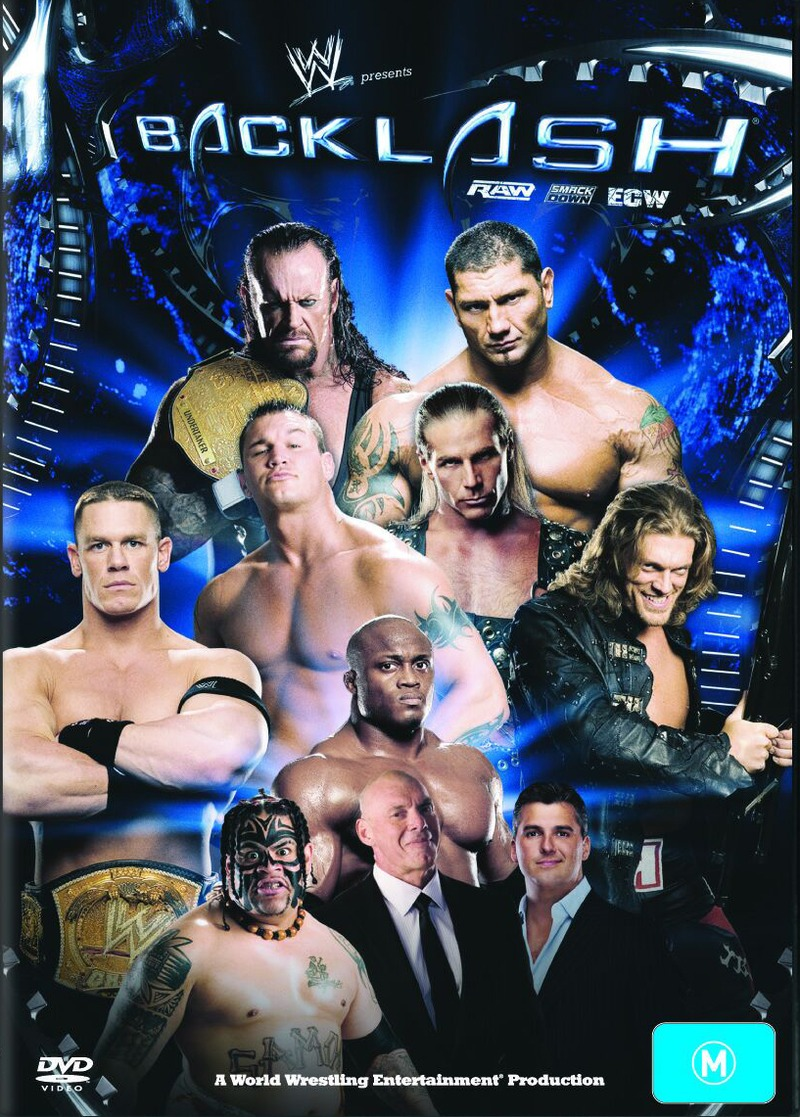 WWE - Backlash 2007 on DVD image