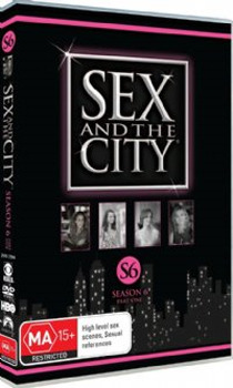 Sex And The City - Season 6: Part 1 (3 Disc Set) on DVD