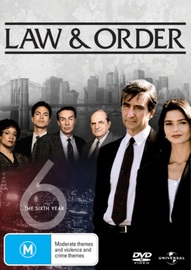 Law & Order - The 6th Year (6 Disc Set) on DVD image