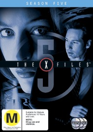 The X-Files - Season 5 DVD