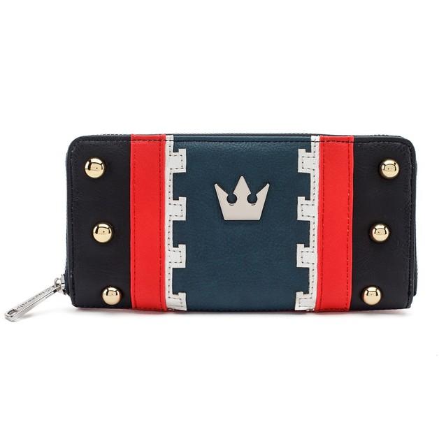Loungefly: Kingdom Hearts - Zip-Around Wallet