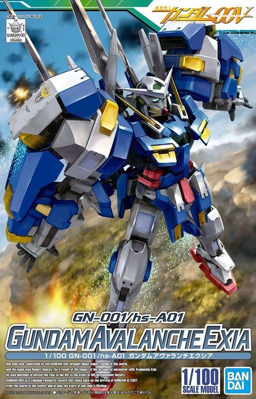 1/100 Gundam Avalanche Exia - Model Kit