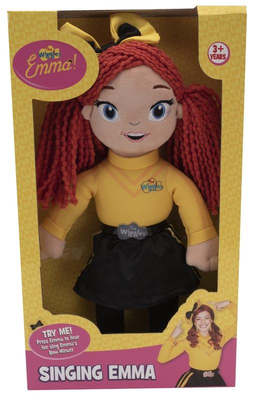 The Wiggles: Singing Plush - Emma
