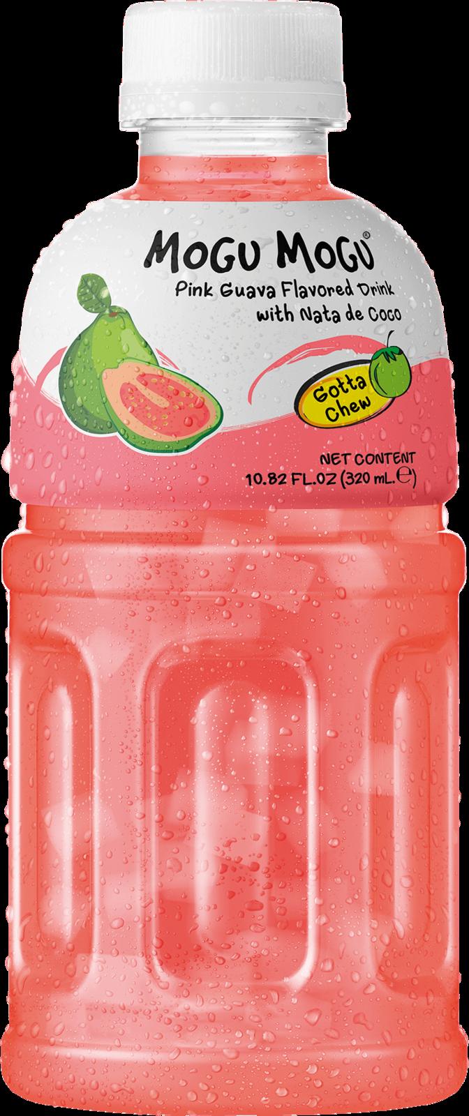 Mogu Mogu: Pink Guava Flavored Drink 320ml image