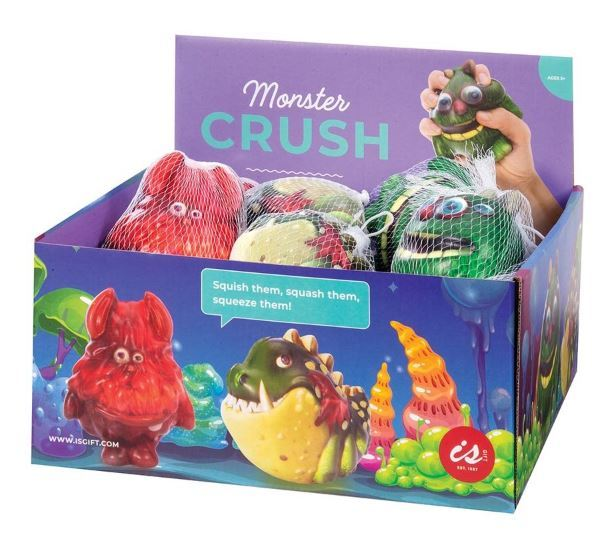 IS Gift: Monster Crush Stress Ball Assorted Designs