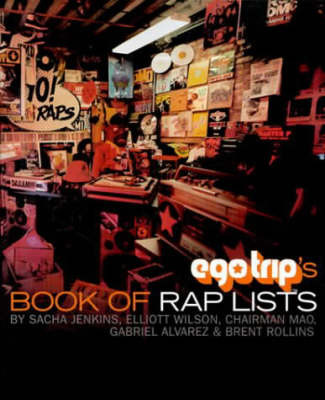 Egotrip's Book of Rap Lists by S Jenkins image