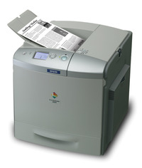 Epson Aculaser 2600N Monochrome Colour Upgradeable image