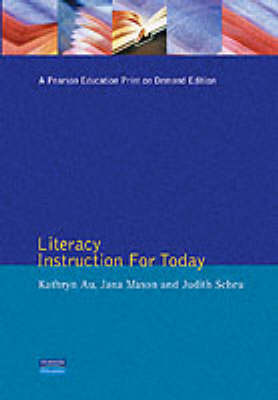 Literacy Instruction for Today by Katherine Au image