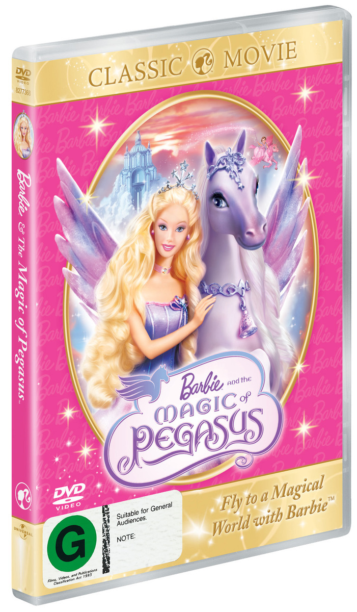 Barbie - The Magic Of Pegasus on DVD image