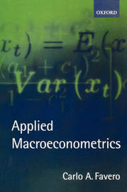 Applied Macroeconometrics by Carlo Favero image