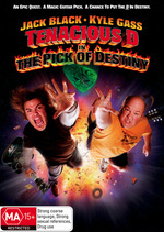 Tenacious D In The Pick Of Destiny on DVD