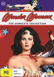 Wonder Woman: Season 1-3 Collection on DVD