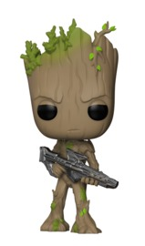 Avengers: Infinity War - Teen Groot (with Gun) Pop! Vinyl Figure