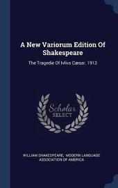A New Variorum Edition of Shakespeare by William Shakespeare image