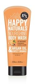 Happy Naturals: Argan Oil & Sweet Orange Body Wash (250ml)