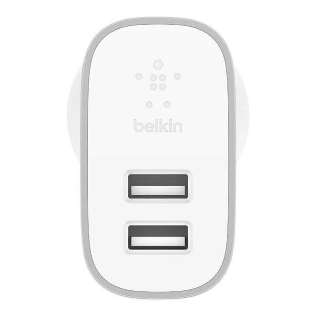 Belkin F7U049auSLV 24W Dual-Port Home Charger