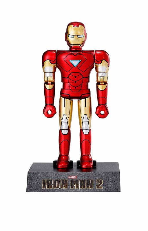 Iron Man 2: Iron Man Mark 6 - Chogokin Heroes Action Figure