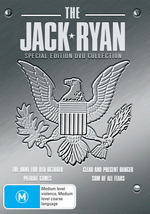 Jack Ryan Collection (4 Movie Pack) on DVD