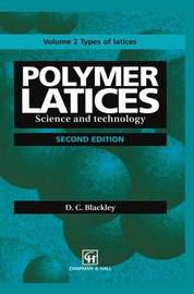 Polymer Latices by D.C. Blackley