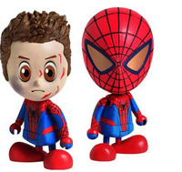 "Amazing Spider-Man Cosbaby 3"" Vinyl Mini Figure Set 2"
