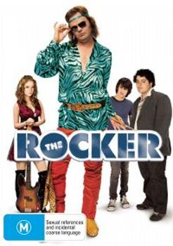 The Rocker on DVD