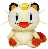 Pokemon - Meowth Fluffy Stuffed Toy