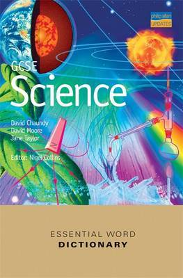 GCSE Science Essential Word Dictionary by David Chaundy image
