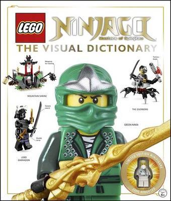 LEGO Ninjago: Visual Dictionary (With exclusive minifigure!) by Hannah Dolan