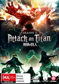 Attack On Titan - Complete Season 2 on DVD