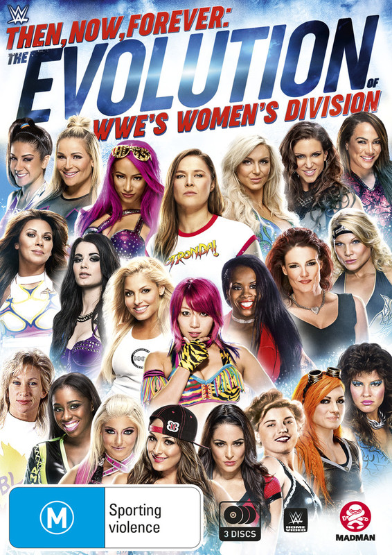 Wwe: Then, Now, Forever: The Evolution Of Wwe'S Women'S Division on DVD