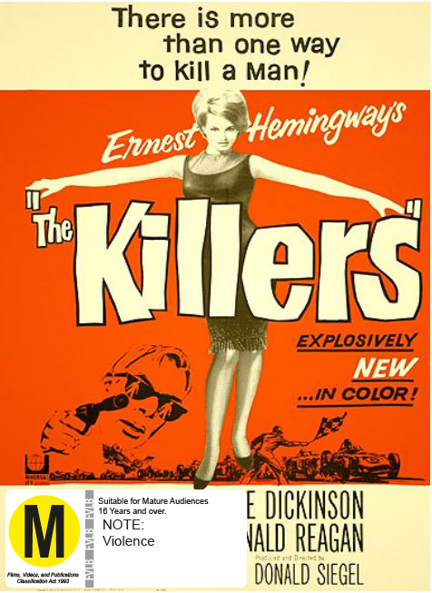 The Killers on DVD