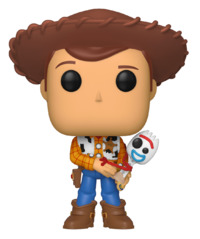 Toy Story 4 - Woody (with Forky) Pop! Vinyl Figure