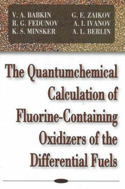 Quantumchemical Calculation of Flourine-Containing Oxidizers of the Differential Fuels image