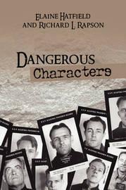 Dangerous Characters by Elaine Hatfield
