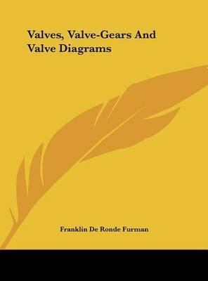 Valves, Valve-Gears and Valve Diagrams by Franklin De Ronde Furman image