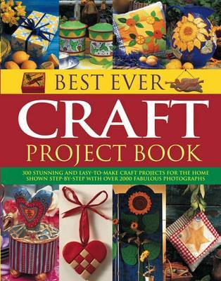 Best Ever Craft Project Book by Lucy Painter image