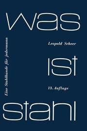 Was Ist Stahl by Leopold Scheer