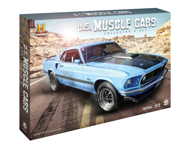 us muscle cars collector's set | dvd | buy now | at mighty ape australia