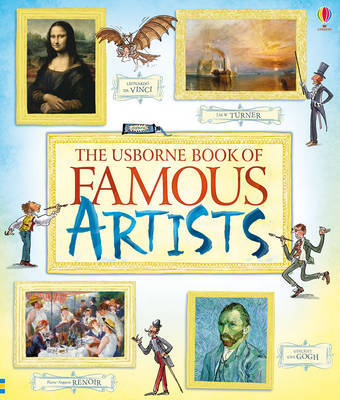 Book of Famous Artists by Rosie Dickins image