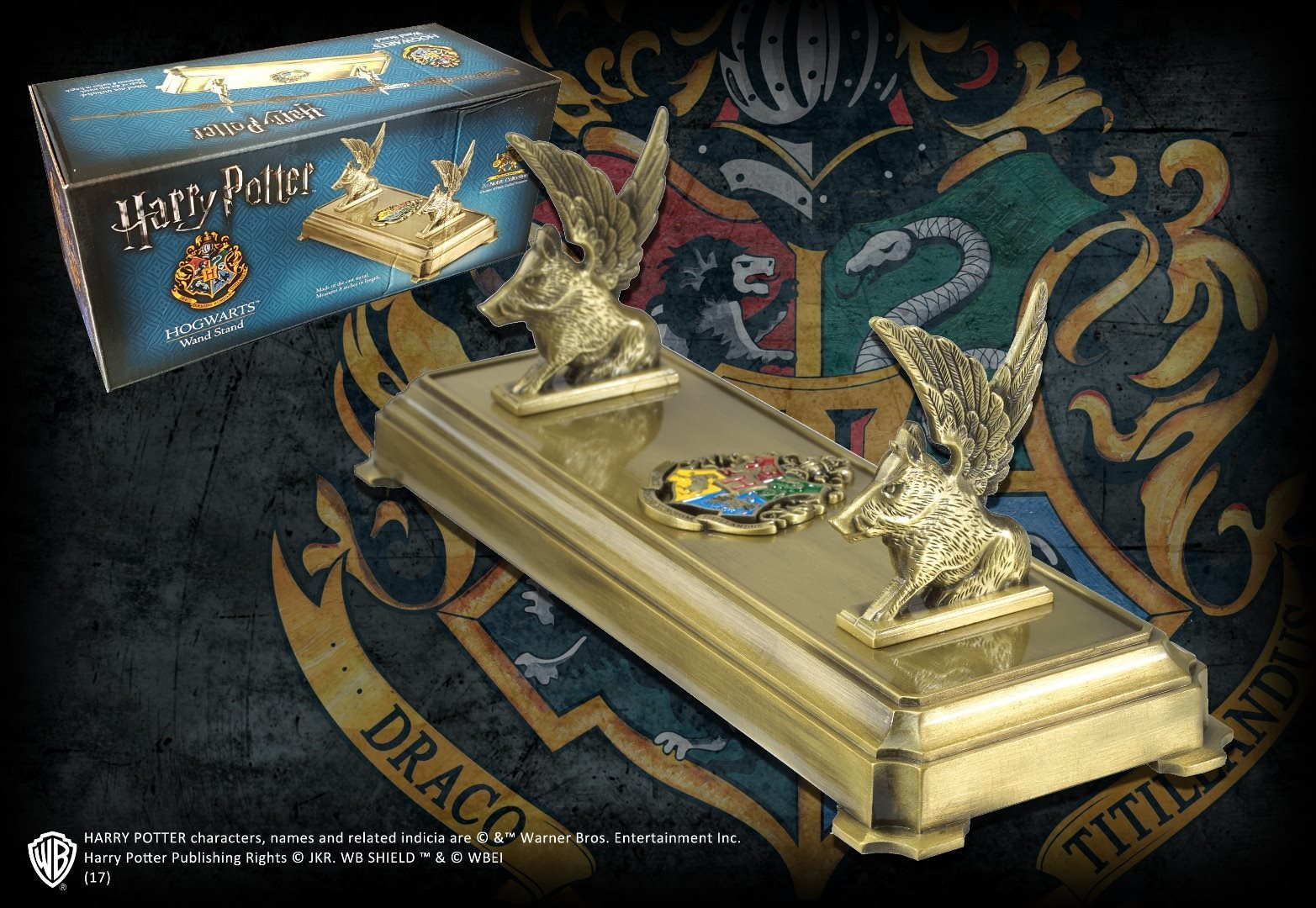 Harry Potter: Premium Wand Stand - Hogwarts image