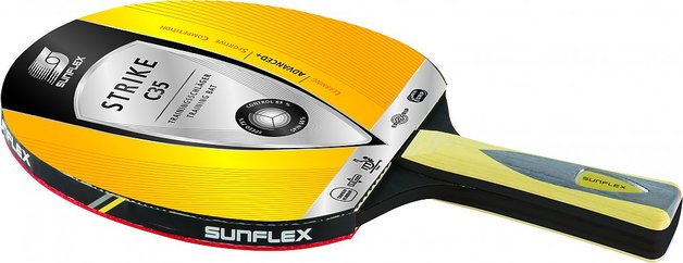 Sunflex Table Tennis Bat Strike C35