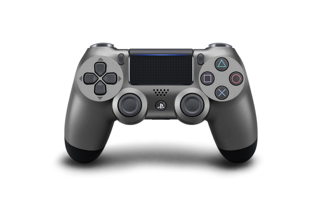 PlayStation 4 Dual Shock 4 v2 Wireless Controller - Steel Black for PS4