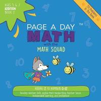 Page a Day Math Addition Book 2 by Janice Auerbach image